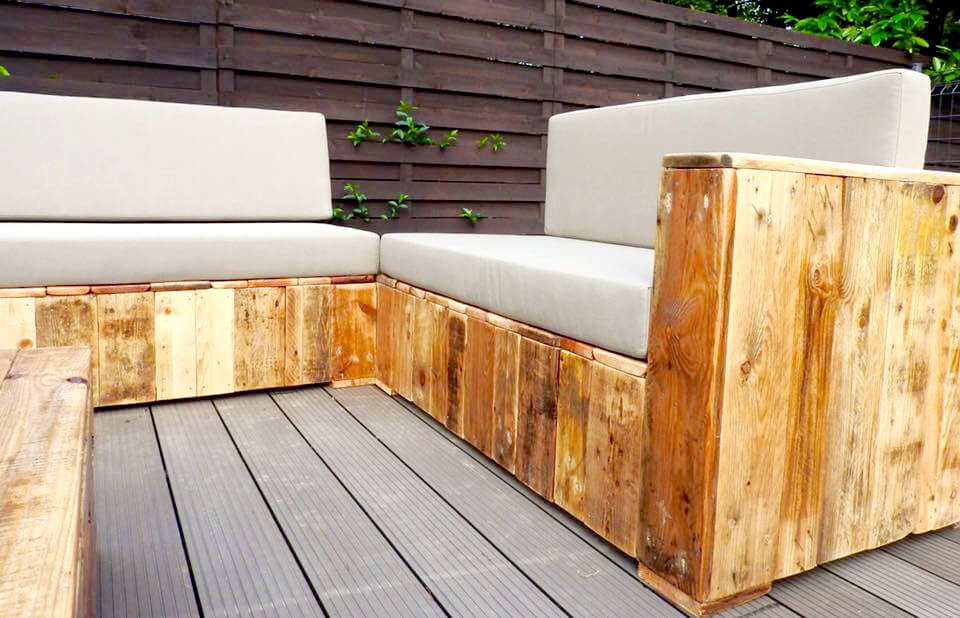 how to build pallet patio furniture