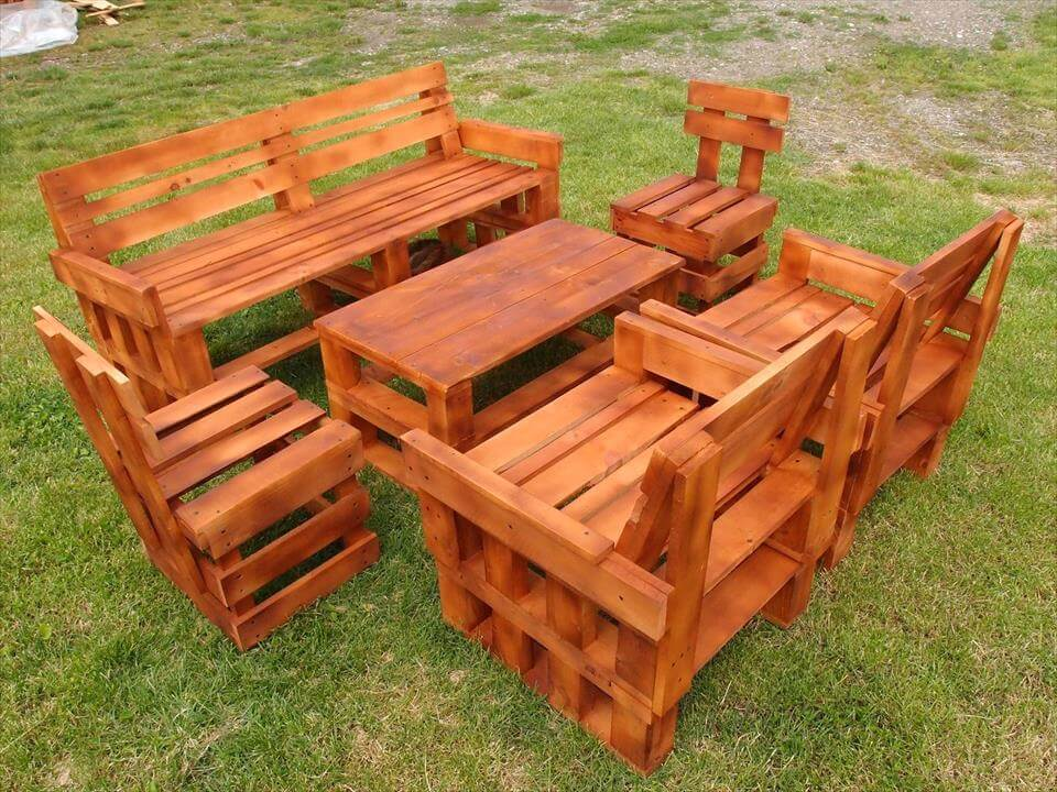 Diy Pallet Fire Pit Table With Firewood Storage further Raised Deck ...