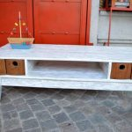 Gorgeous Pallet Media Console Table