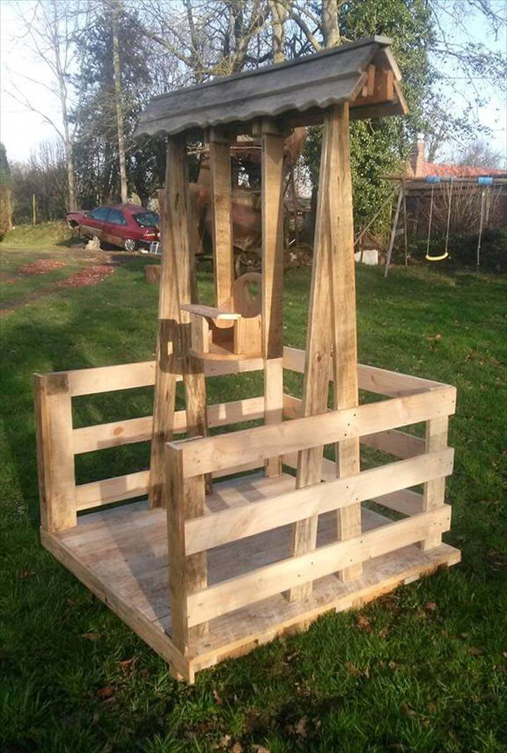 handmade pallet swing for 2 year old babies