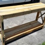 Wood Pallet Entryway Table – DIY