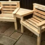 Wood Pallet Outdoor Chair and Sofa