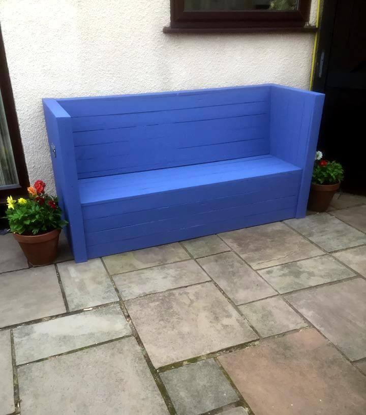 diy pallet outdoor sofa