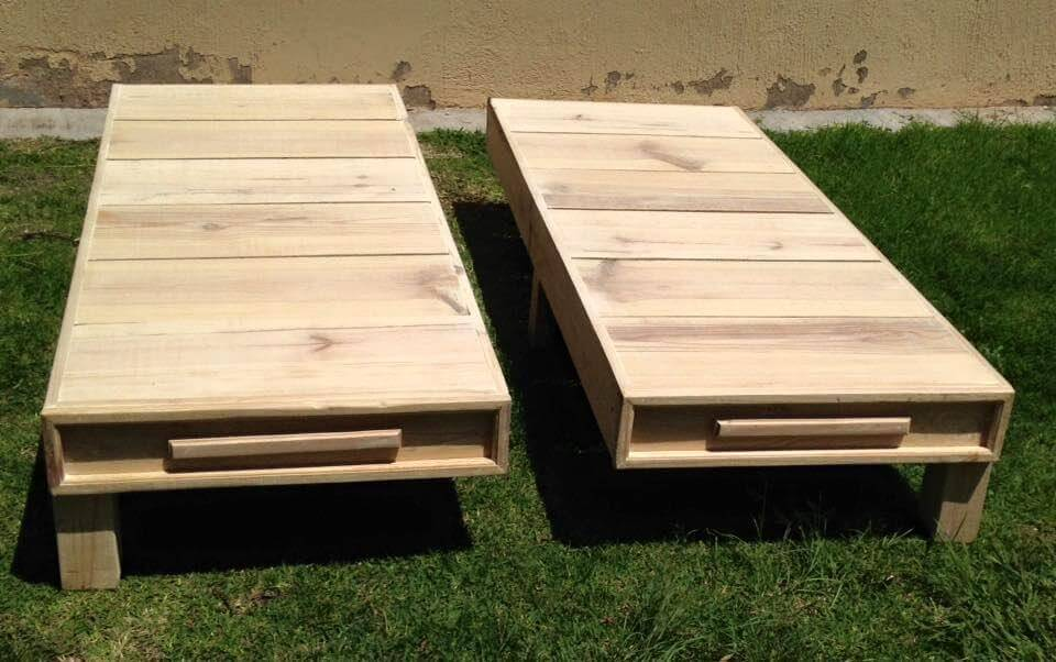 Wood Pallet Twin Bed Frame | 101 Pallets