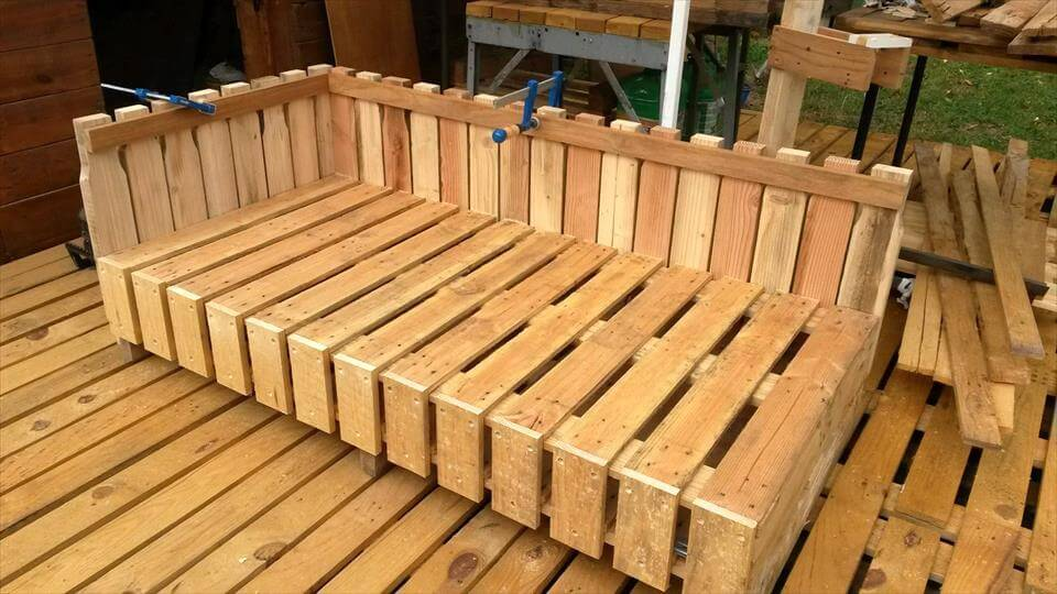 pallet stylish sofa