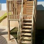 Upcycled Pallet Playhouse For Kids