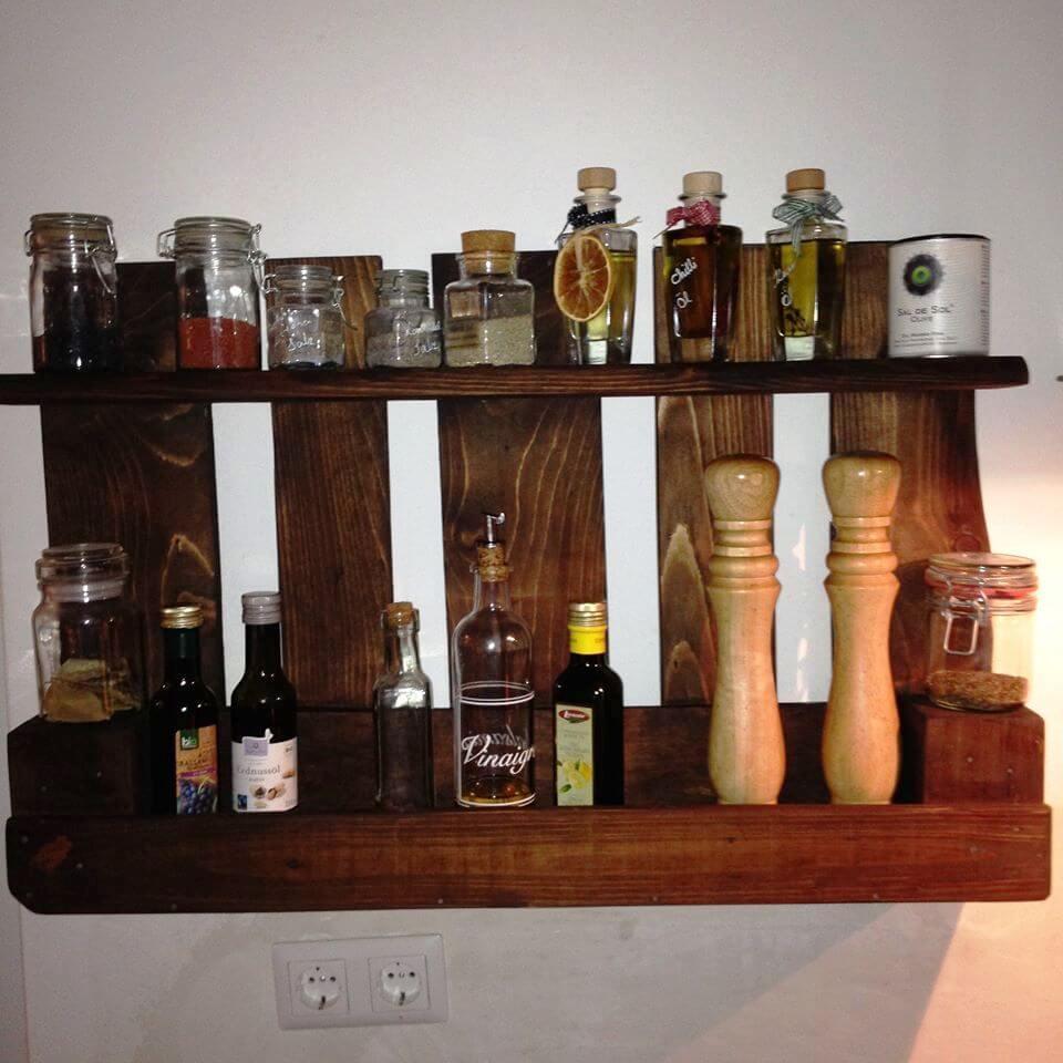 pallet beverage bottle shelf