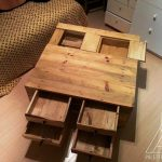 DIY Pallet Coffee Table with Drawers